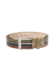 WildHorn Men Brown Leather Belt