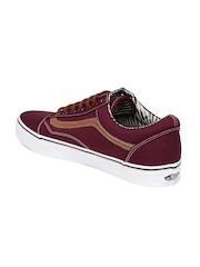 Vans Men Maroon Old Skool Casual Shoes