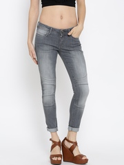 Wrangler Grey Jeggings Fit Jeans