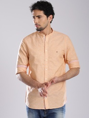 Tommy Hilfiger Coral Orange Casual Shirt