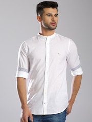 Tommy Hilfiger White Casual Shirt