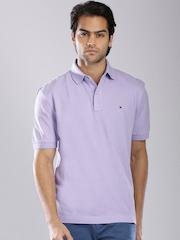 Tommy Hilfiger Lavender Polo T-shirt