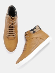 Roadster Men Tan Brown Sneakers