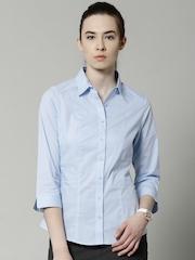 Marks & Spencer Blue Formal Shirt