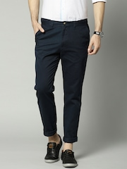Marks & Spencer Navy Slim Chino Trousers