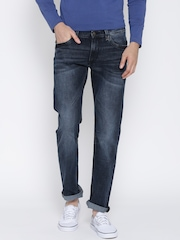Lee Navy Washed Powell Fit Jeans