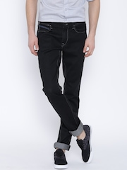 Lee Black Low-Rise Bruce Skinny Fit Jeans