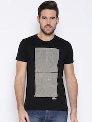 Lee Black Maze Print T-shirt