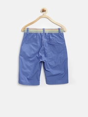 United Colors of Benetton Boys Blue Printed Shorts