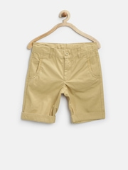 United Colors of Benetton Boys Beige Shorts