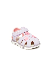 Juniors by Lifestyle Girls Lavender Sandals