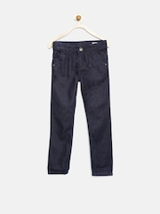 YK Level Up Boys Navy Jeans
