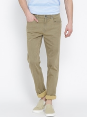 Monte Carlo Beige Narrow Fit Jeans