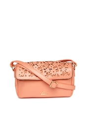 Lavie Peach-Coloured Sling Bag
