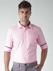 Mast & Harbour Pink Fil-a-Fil Casual Shirt