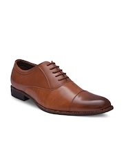 Sir Corbett Men Tan Brown Formal Shoes