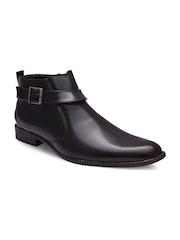 Sir Corbett Men Black Semiformal Shoes