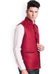 Wintage Red Nehru Jacket