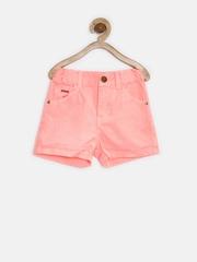 People Girls Neon Pink Shorts