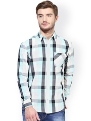 Srota Multicoloured Checked Slim Fit Casual Shirt