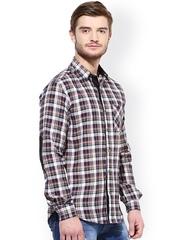 Srota Multicoloured Checked Slim Fit Casual Shirt