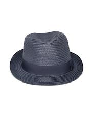 Antony Morato Men Navy Fedora Hat