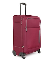 AMERICAN TOURISTER Unisex Maroon Beirut Spinner Medium Trolley Bag
