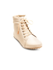 Marc Lorie Women Cream-Coloured Boots