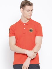 Status Quo Orange Polo T-shirt