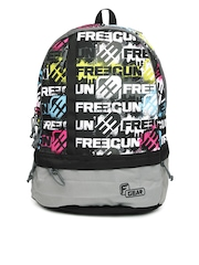F Gear Unisex Black Printed Burner P1 Backpack