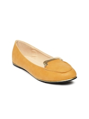 Allen Solly Women Mustard Yellow Flat Shoes