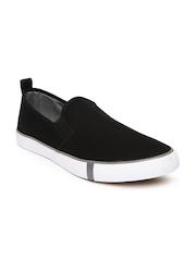 Mast & Harbour Men Black Loafers