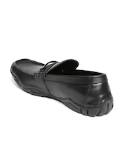 Kenneth Cole Reaction Black Leather Loafers