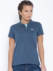 FILA Teal Blue Polo T-shirt