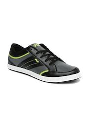 FILA Men Grey & Black Fabrizio Sneakers