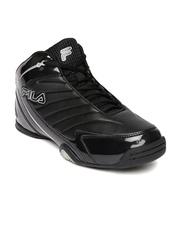 FILA Men Black Gambit Basketball Shoes