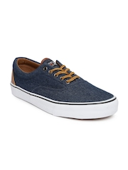 Kook N Keech Men Navy Denim Casual Shoes