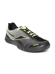 Reebok Men Black Athletic 2.0 Printed Running Shoes