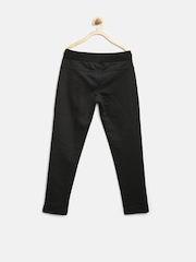 United Colors of Benetton Girls Black Track Pants