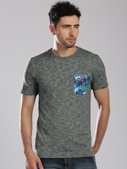 Superdry Charcoal Grey T-shirt