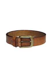 eXcorio Men Brown Leather Belt