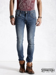 Roadster Blue Stretch Jeans