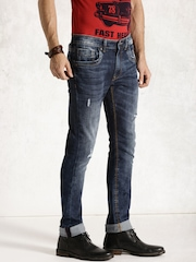 Roadster Blue Washed Jeans
