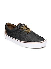 Kook N Keech Men Black Denim Casual Shoes
