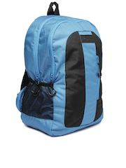 WAC by Wrangler Unisex Blue & Black Sprinter Backpack
