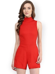 Miss Chase Red Playsuit