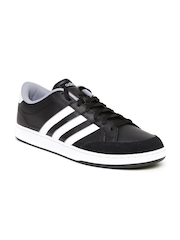 Adidas NEO Men Black Courtset Sneakers