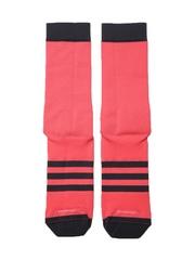 Adidas Men Coral Pink Infinity Cycling Socks