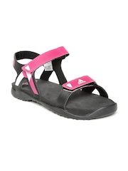 Adidas Women Pink ORSO Sports Sandals