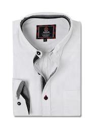 HARVARD White Smart Casual Adaptive Shirt